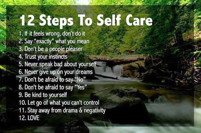 12 Steps To Self Care is Where Easy Living Begins
