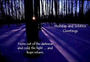 Winter Solstice, the rebirth of hope is Where Easy Living Begins