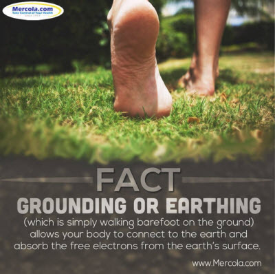 Going Barefoot and connecting to the Earth's surface has many health benefits. This is Where Easy Living Begins.