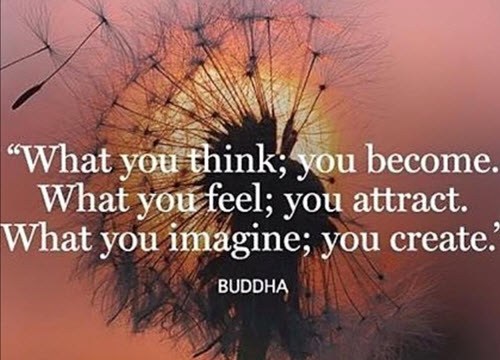 What you think; you become. What you feel; you attract. What you imagine; you create. - Budda. This is Where Easy Living Begins