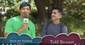 Todd Stewart on GoTarrynTV with Tarryn the Traveling Trainer